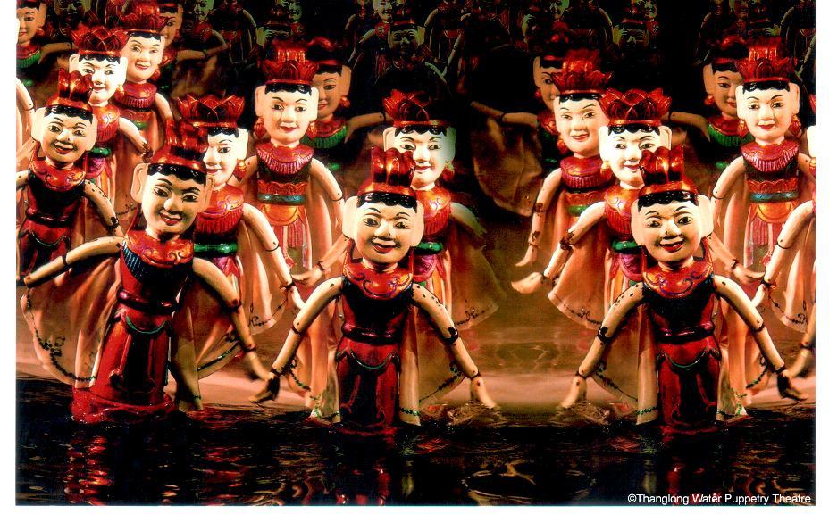 ベトナム水上人形劇 | SPAC