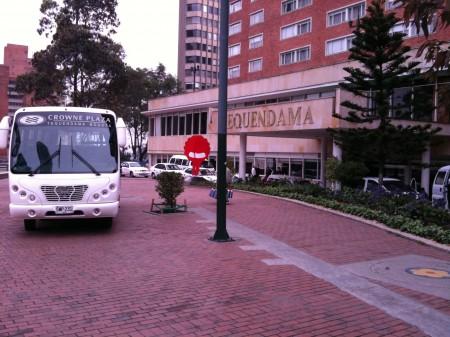 宿泊先 ボゴタ・クラウンプラザ・テケンダーマ・ホテル