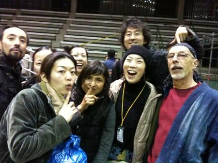 ファビアナ、ジャン=マルクと『ドン・ファン』組のメンバーたち