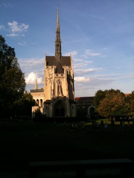 ピッツバーグ大学の建物の一つ(だと思う)