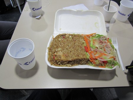 野菜炒め+チャーハンの中華定食