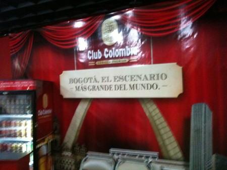 ボゴタ、世界最大の舞台