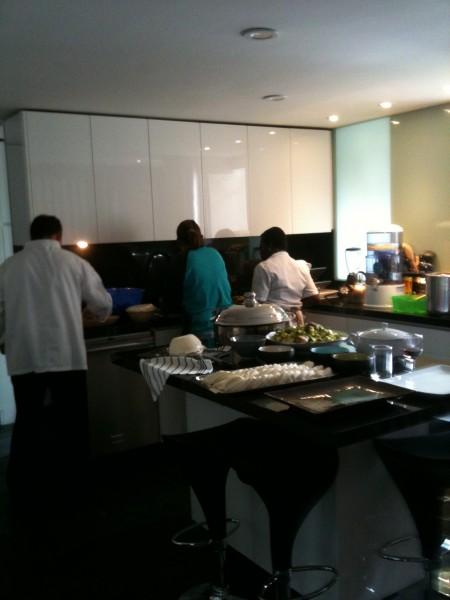 アナマルタさんちの厨房