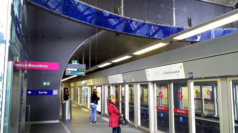 メトロ駅構内 20170919_122050165
