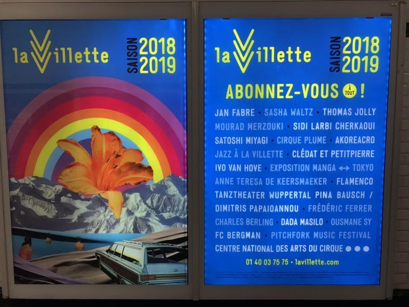 ラ・ヴィレットのポスター